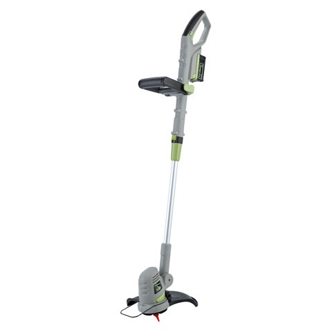 """LawnMaster 18V Li-On 10"""" Cordless Grass Trimmer with Quick Charge"""