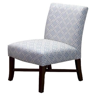 ECOM X Base Chair 6507KDBLTS Blue Trellis 22-004