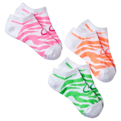 C9 by Champion® Girls' 3-Pack Low Cut Socks - White