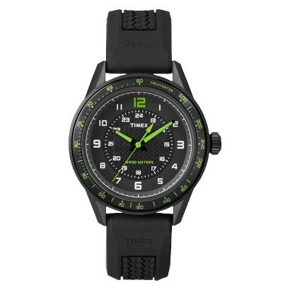 Timex Men's  Ameritus Sport Dial with Strap Watch  - Black