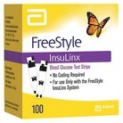 FreeStyle Insulinx Blood Glucose Test Strips - 100 Count