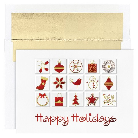 Holiday Icons Holiday Boxed Cards (16 count)