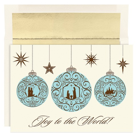 Religious Ornaments 16 ct Boxed Cards