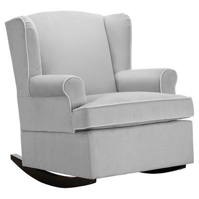 eddie bauer wingback upholstered rocker product details page