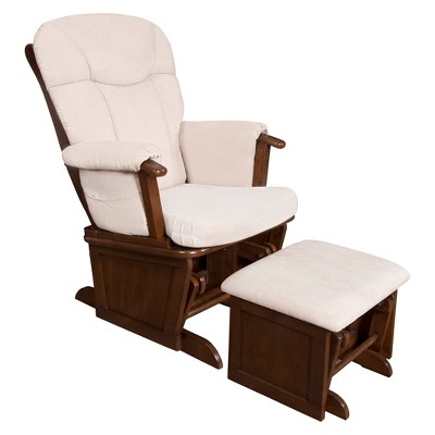 Eddie Bauer® Langley Wooden Glider - Walnut