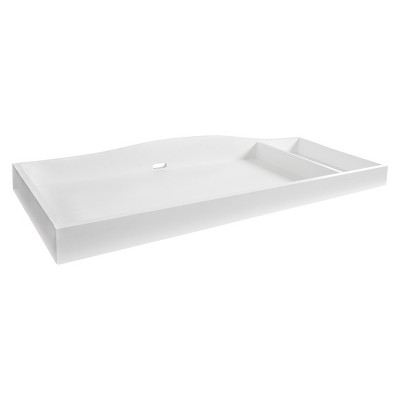 Eddie Bauer® Langley Dresser Topper - White