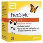 FreeStyle Lite Blood Glucose Test Strips - 50 Count