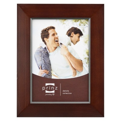 "Prinz Dakota Dark Walnut Wood 11""x14"" Frame"