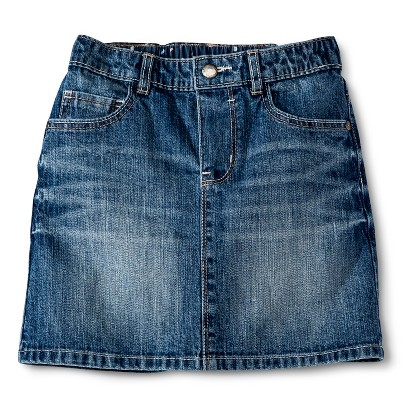 Genuine Kids from OshKosh ™ Infant Toddler Girls' Jeans Skirt - Medium Blue