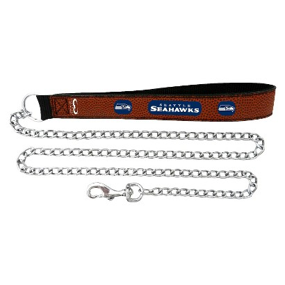 Seattle Seahawks  Leather Leash