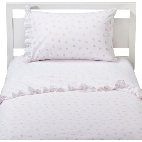 Circo® Happily Ever After Sheet Set - White/Pink