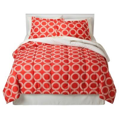 Global Geometric Bed In A Bag (Full) Orange - Room Essentials™