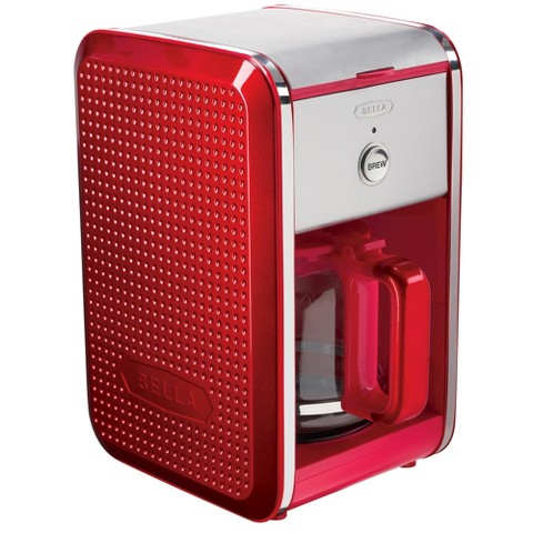 Bella Red Coffee Maker Manual : Bella Dots Collection 12 Cup Manual Coffee Maker... : Target