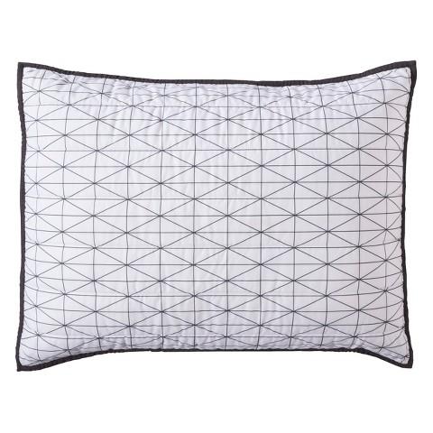 Triangle Grid Sham - Standard - Room Essentials™