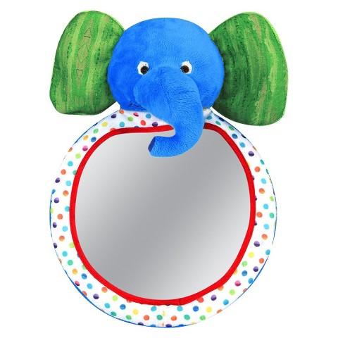 Eric Carle Elephant Backseat Baby View Mirror