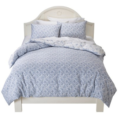 Simply Shabby Chic® Batik Duvet Cover Set - Indigo (Full/Queen)
