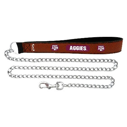 Texas A&M Aggies Leather Leash