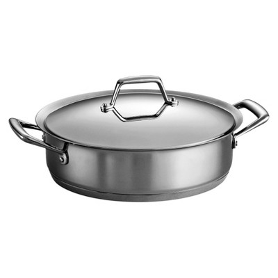 Tramontina Gourmet Prima 5 Quart Tri-Ply Base Covered Casserole