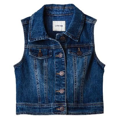 Girls' Jean Vest