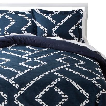 Nate Berkus Harbor Comforter Set - Blue (King)