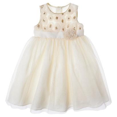 Rosenau Girls' Dress - Cream