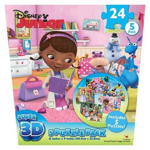 Disney Jr Super 3D Puzzle