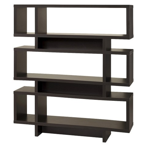 Monarch Specialties Modern Bookcase - Coffee