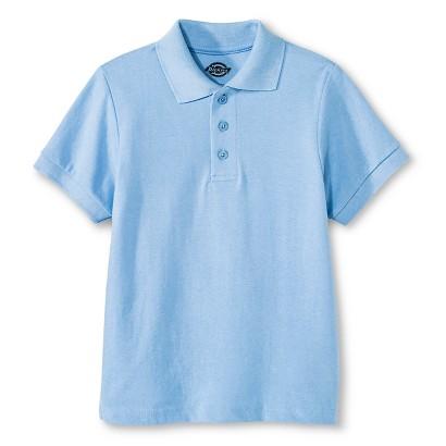 Dickies® Boys' School Uniform Short-Sleeve Pique Polo