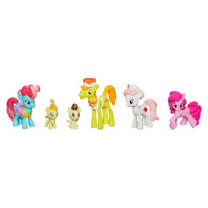 My Little Pony Cake Family Babysitting Fun Mini Collection Set
