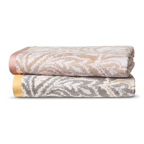 Threshold™ Textured Paisley Bath Towels