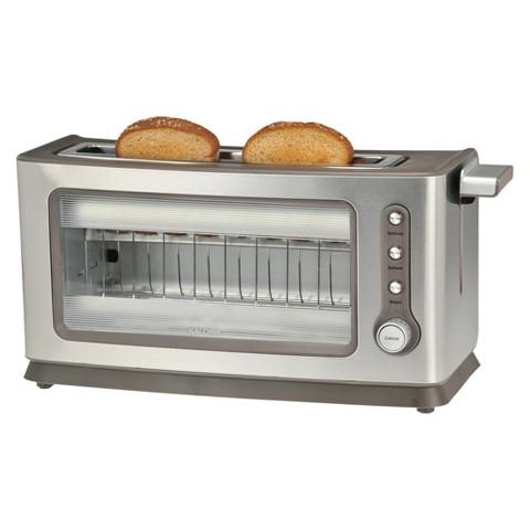 Kalorik Stainless Steel/Glass Toaster