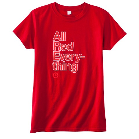 Women's Fitted All Red Everything T-Shirt