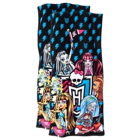 Monsters High Beach Towel - 2-pk.