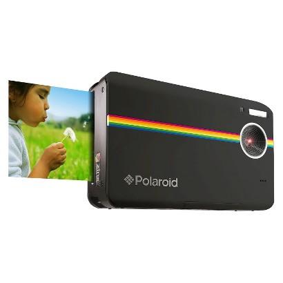 Polaroid Z2300 10MP Digital Instant Point & Shoot Camera with 6X Digital Zoom - Black
