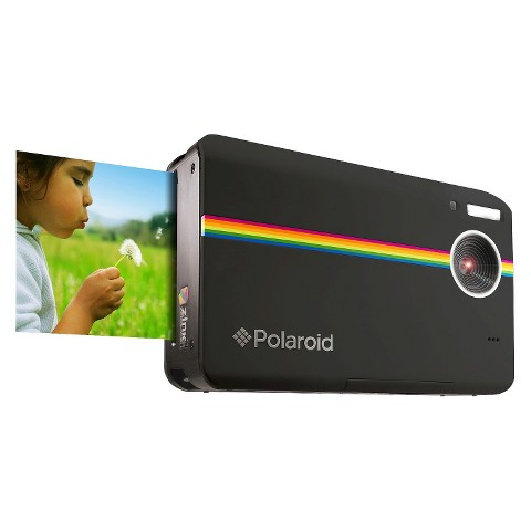 Polaroid Z2300 10MP Digital Instant Point & Shoot Camera with 6X Digital Zoom - Black