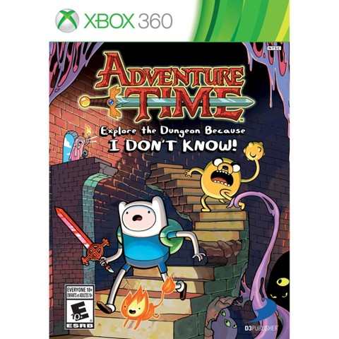 Adventure Time: Explore the Dungeon Because I DON'T KNOW (Xbox 360)