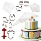 Cake Boss 25 Piece Baby Shower Cake Kit