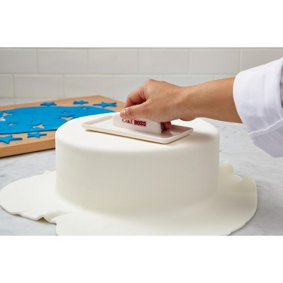 Cake Boss Decorating Tools Plastic Fondant Smoother