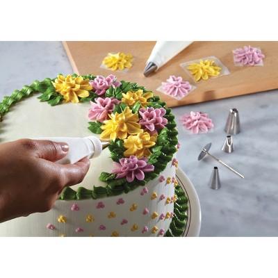 Cake Boss 10 Piece Decorating Tools Flower Decorating Tip Set