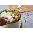 Cake Boss Decorating Tools 10-Piece Flower Decorating Tip Set