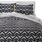 Room Essentials™ Geo Comforter Set - Grey/White (Full/Queen)