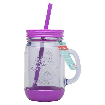 Aladdin Mason Jar Travel Mug with Handle - Grape (20oz)