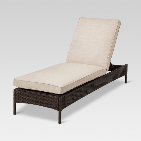 Threshold™ Belvedere Wicker Patio Chaise Lounge