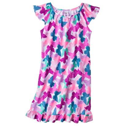Xhilaration® Girls' Butterfly Nightgown