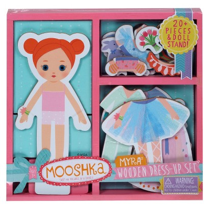 Mooshka Wooden Dress-Up Set – Myra