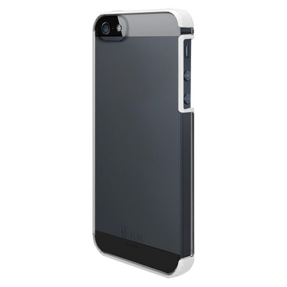 iLuv Cell Phone Case for iPhone 5 - Black/Gray (AI5VYNEWH)