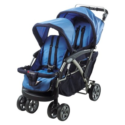 Foundations Duo Tandem Stroller - Blue