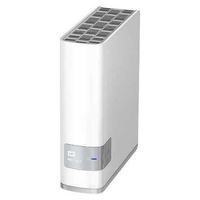 WD My Cloud 2TB External Hard Drive (WDBCTL0020HWT-NESN) - White