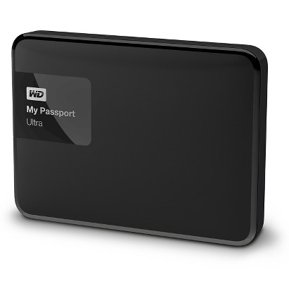 WD My Passport Ultra 500GB External Hard Drive - black (WDBPGC5000)