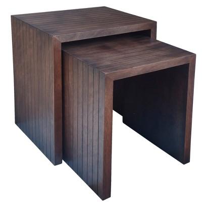 Threshold™ Nesting Tables - Chestnut